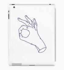 nice hands iPad Case/Skin