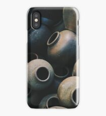 Clay Pots by iPhoneographer Matteo Genota iPhone Case/Skin