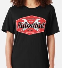 Rockbell Automail Repair Slim Fit T-Shirt