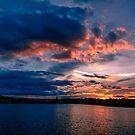 Sun is down, Boston College, MA by LudaNayvelt