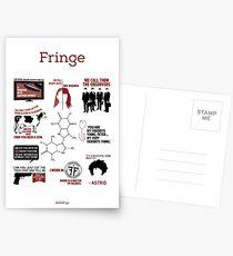 Fringe-Zitate Postkarten