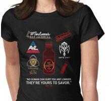 True Blood Logos Womens Fitted T-Shirt