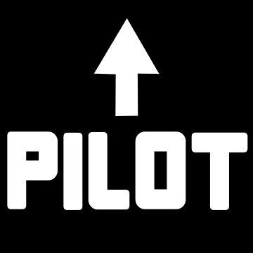 I'm the pilot geek funny nerd by katabudi