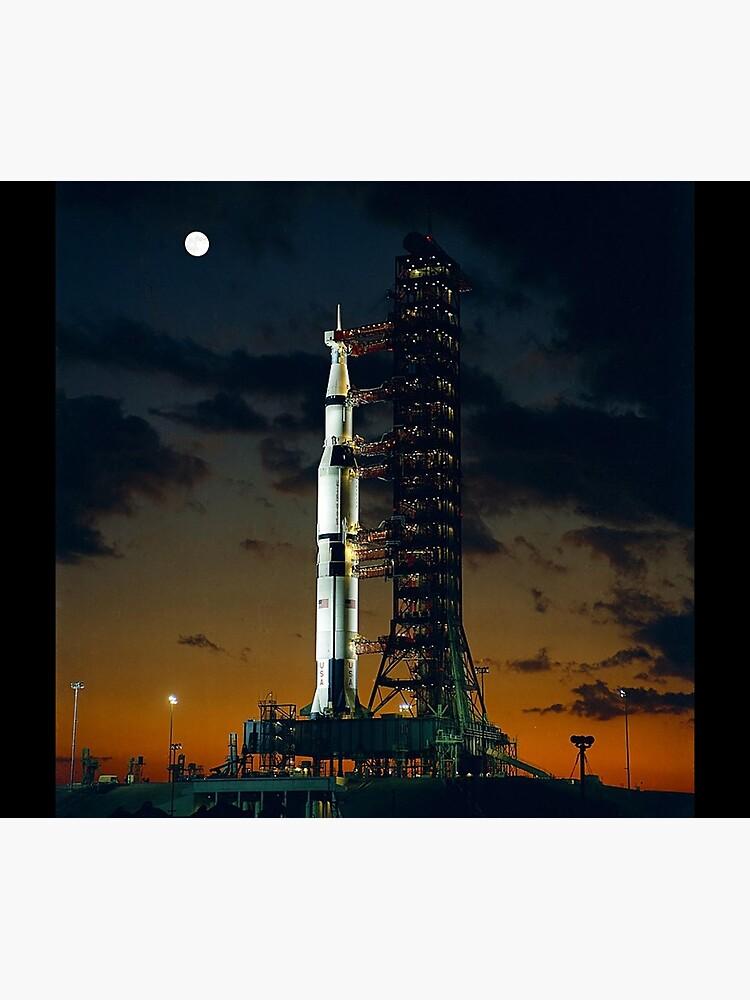 APOLLO 4, Saturn V Rakete, für die amerikanischen bemannten Mondlandung Missionen verwendet von TOMSREDBUBBLE