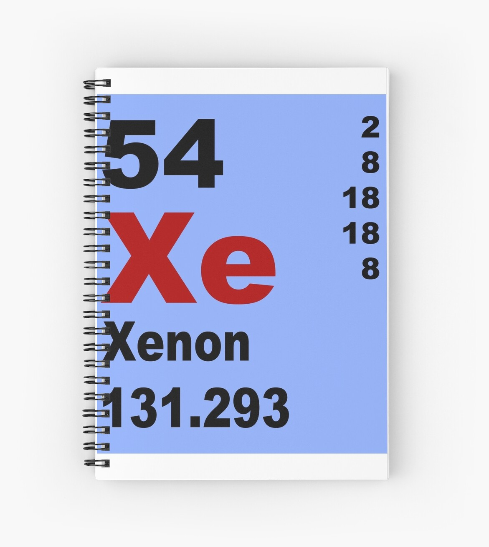 xenon tabla peridica de elementos