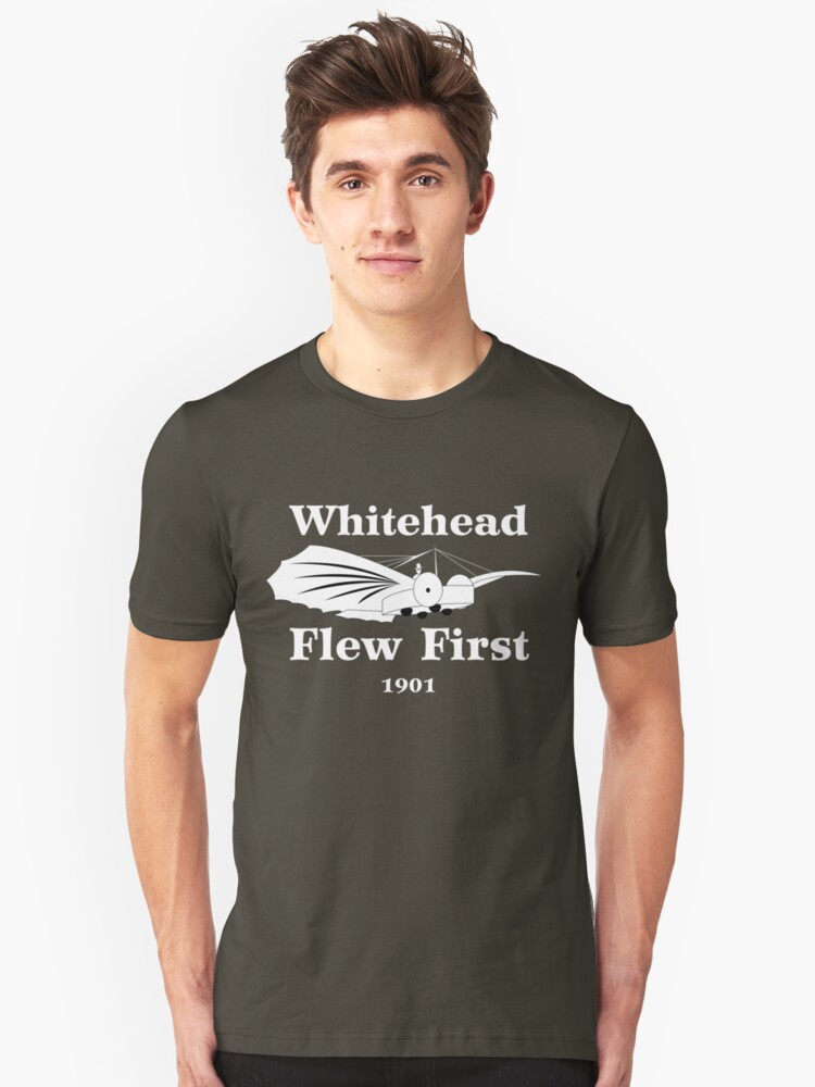 Whitehead Flew First by warbirdwear