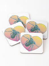 Amblypygi love - Phrynus whitei Coasters