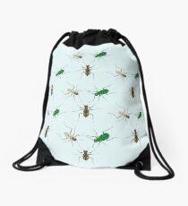 Tiger Beetle Pattern Drawstring Bag