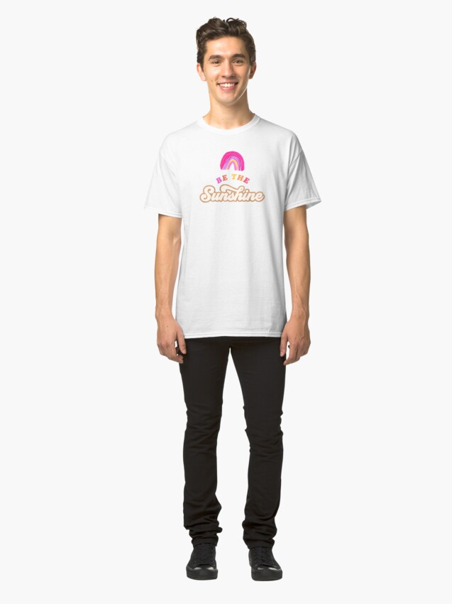 Alternative Ansicht von Sei der Sonnenschein - Pink Palette Classic T-Shirt