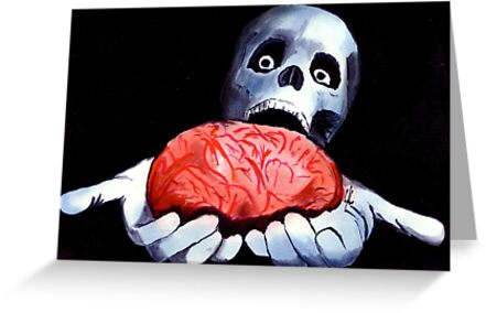 Brains! Live Brains! by Zombie Rust