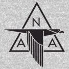 North American Aviation Logo (Black) by warbirdwear