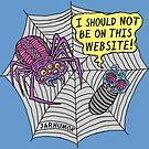 Spider Website by jarhumor