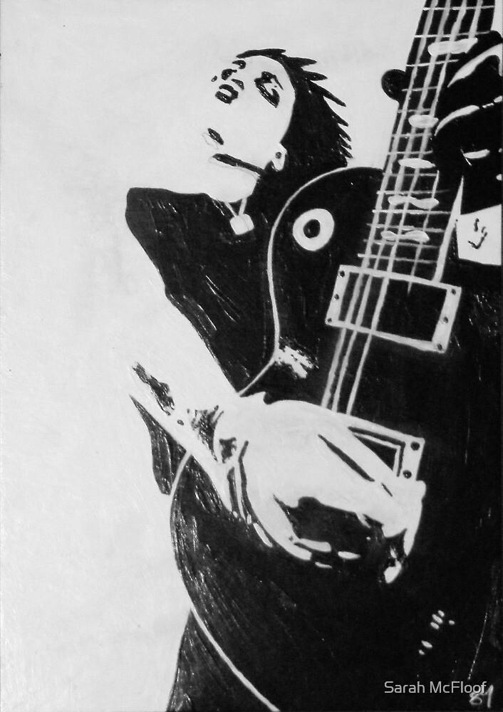 Punk Rocker with Guitar by Sarah McFloof