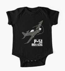 P-51 Mustang One Piece - Short Sleeve