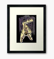Heman in Greyskull Framed Print