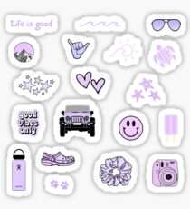 Lila Sticker Pack Sticker