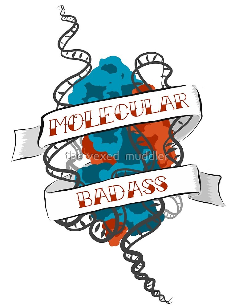 Molecular Badass Tattoo by the vexed  muddler