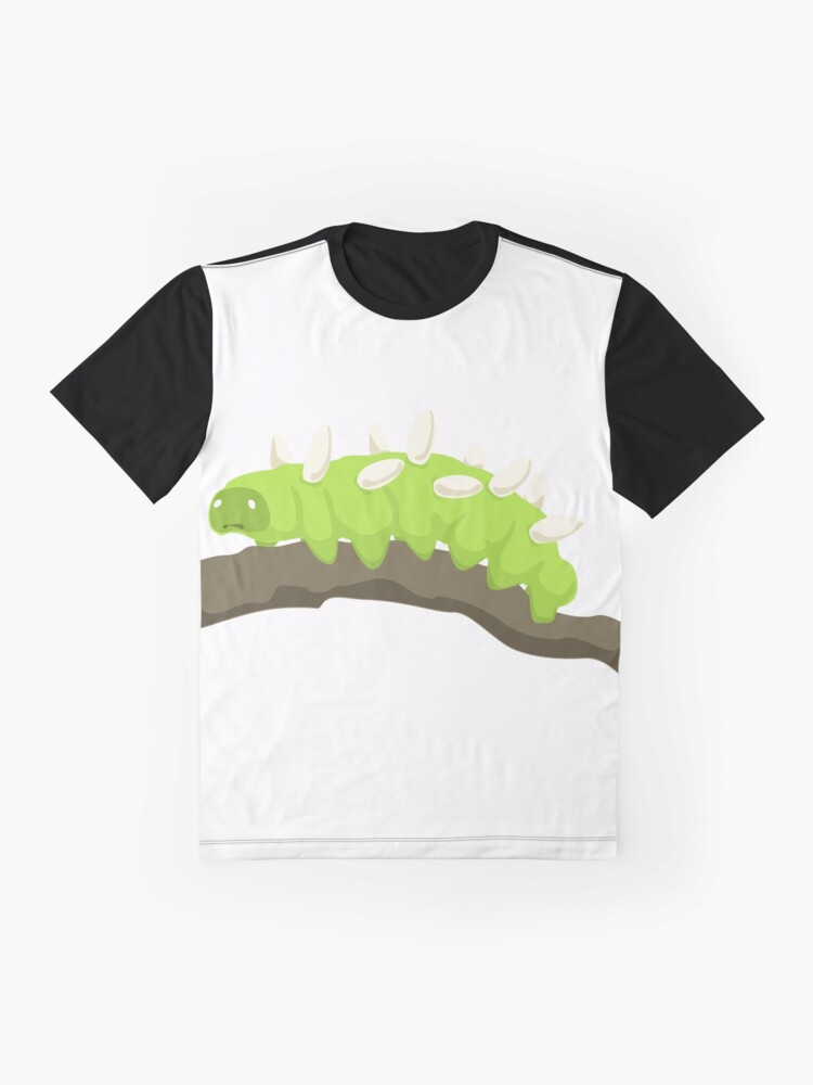 Alternate view of The Saddest Caterpillar Graphic T-Shirt
