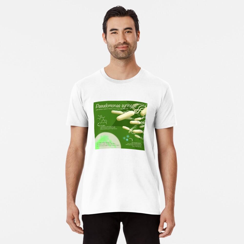 Pseudomonas syringae Premium T-Shirt