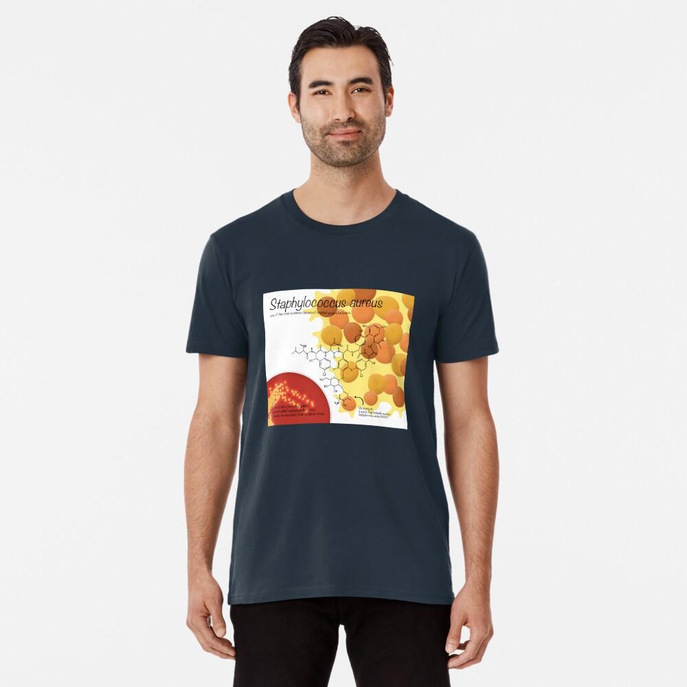Staphylococcus aureus Premium T-Shirt