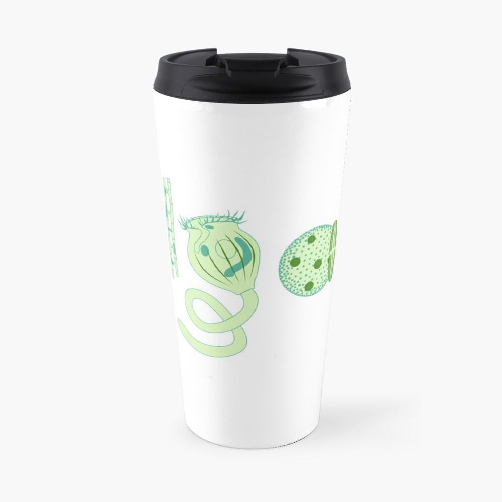 Literate Microscopic Algae Travel Mug
