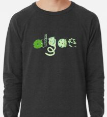 Literate Microscopic Algae Lightweight Sweatshirt