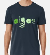 Literate Microscopic Algae Premium T-Shirt
