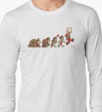 8 Bit Evolution Long Sleeve T-Shirt