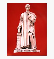 Niccolo Machiavelli Photographic Print