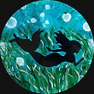 A Mermaid in a Bubble world  by Julie Oliver