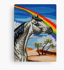 Arabian Needlepoint Canvas Print