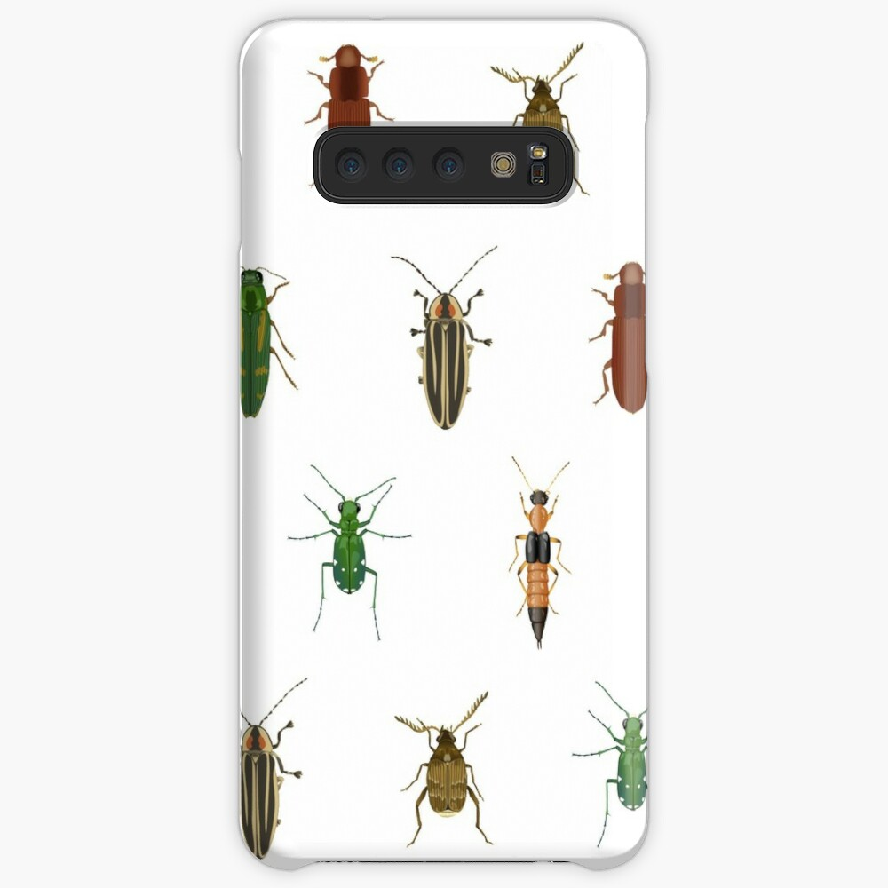 Four Beetles Case & Skin for Samsung Galaxy