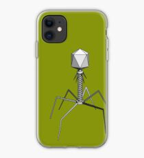 T4 bacteriophage virus iPhone Case