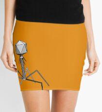 T4 bacteriophage virus Mini Skirt