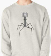 T4 bacteriophage virus Pullover Sweatshirt