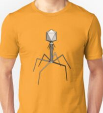 T4 bacteriophage virus Slim Fit T-Shirt