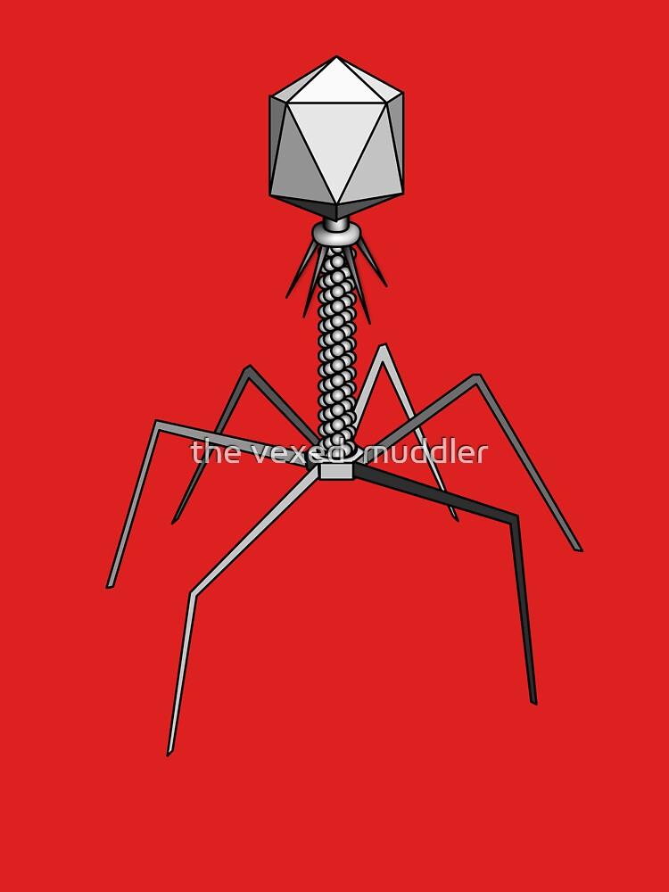 T4 bacteriophage virus by thevexedmuddler