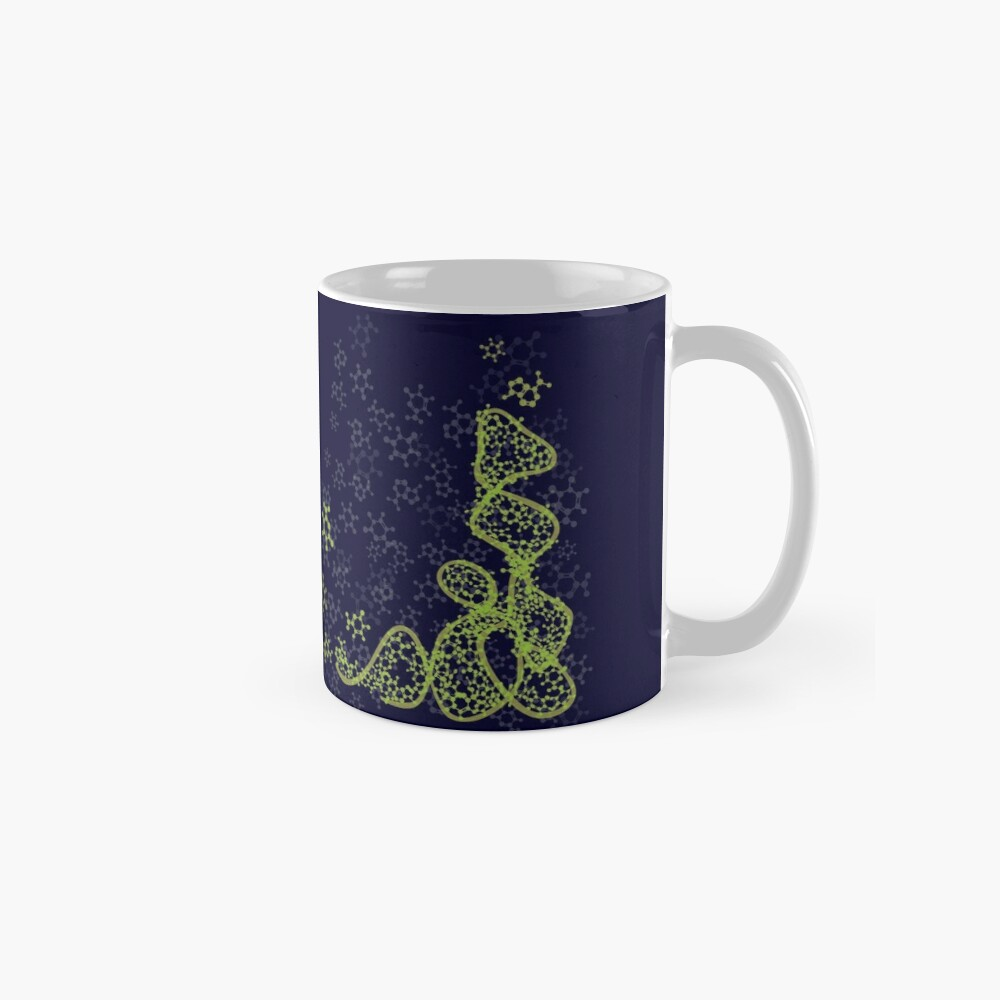 tRNA (transfer RNA) structure - bright green Mug