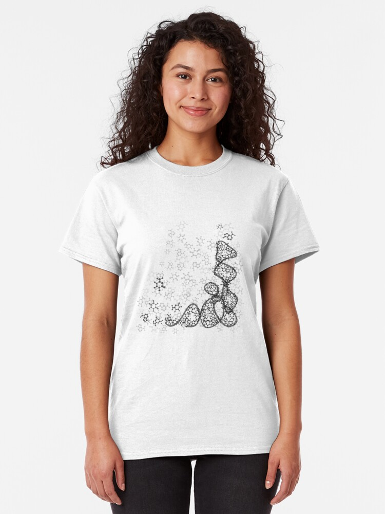 Alternate view of tRNA (transfer RNA) structure Classic T-Shirt