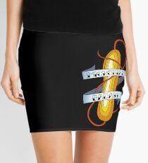 Microbial Badass Tattoo - full colour Mini Skirt