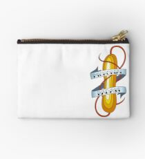 Microbial Badass Tattoo - full colour Zipper Pouch