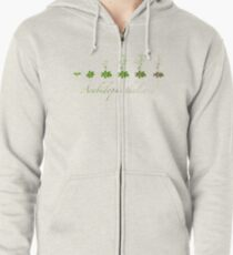 A. thaliana development Zipped Hoodie