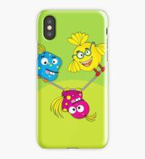 Wacky Bird Hangout iPhone Case/Skin