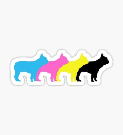 frenchie fun Sticker