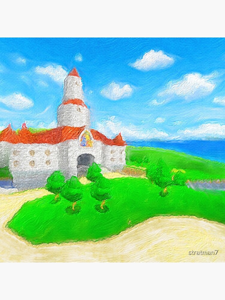 Peach's Castle Painting by stratman7