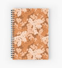 Autumn Rust toned plant Spiral Notebook