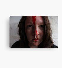 Bloody Hell Self Portrait Canvas Print