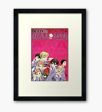Ouran High School Host Club Framed Print