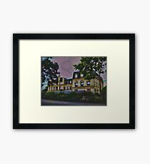 Haunted Castle (Top 10 Most Haunted on Yahoo) Framed Print