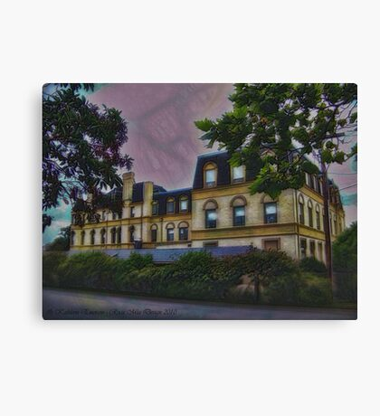 Haunted Castle (Top 10 Most Haunted on Yahoo) Canvas Print